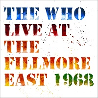 the who live at the fillmore east 1968 cover