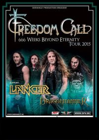 freedomcall tourplakat